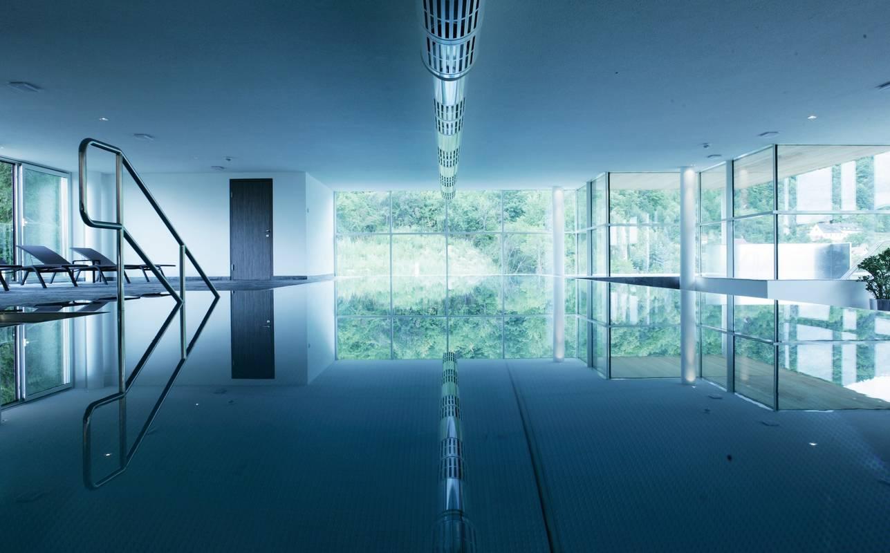 Indoor-Pool Hotel Steigenberger Krems