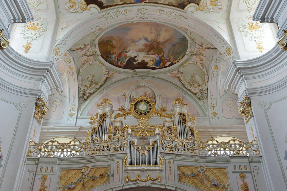 Kirche Innen Maria Langegg
