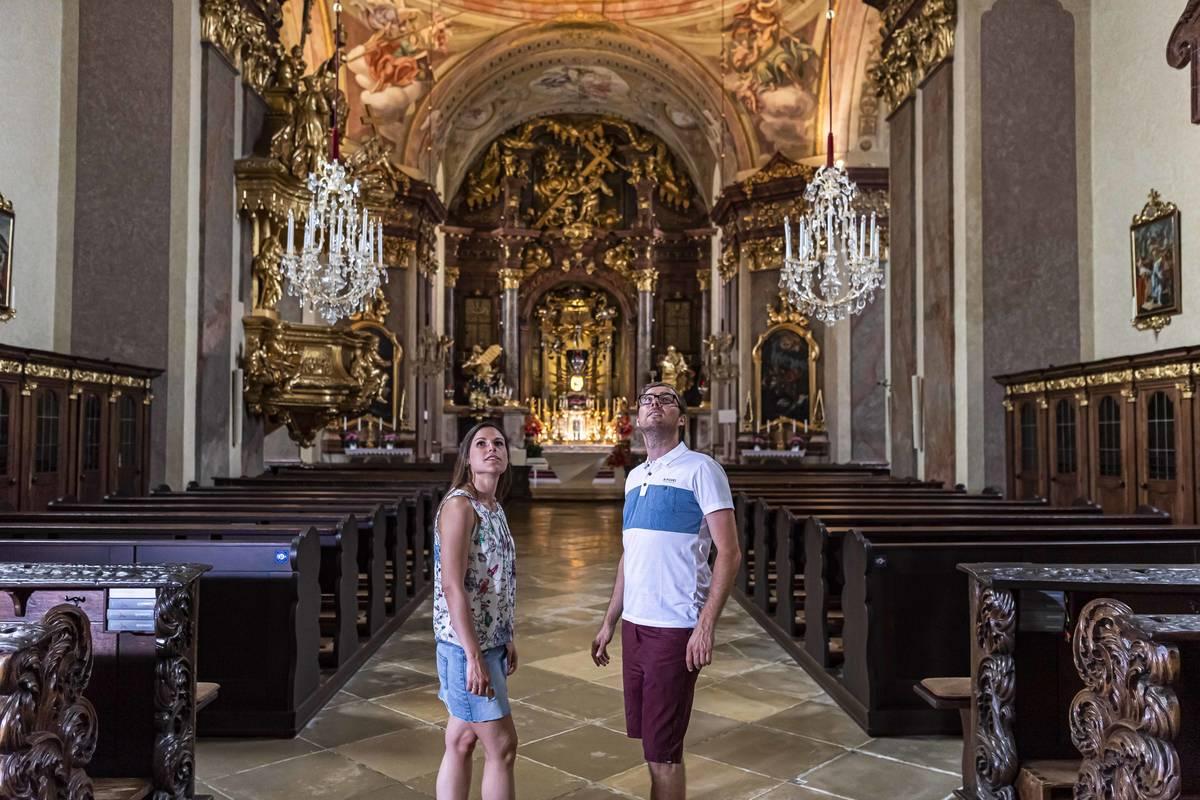 Basilika Maria Taferl Innenansicht