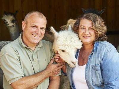 Doris und Michael Weyrer, Alpakaerlebnis Marchfeldmühle