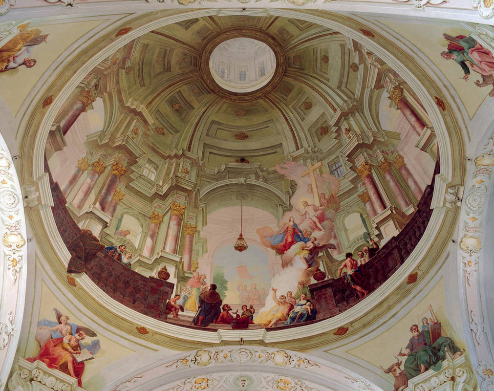 Langegg Innen Deckenmalerei