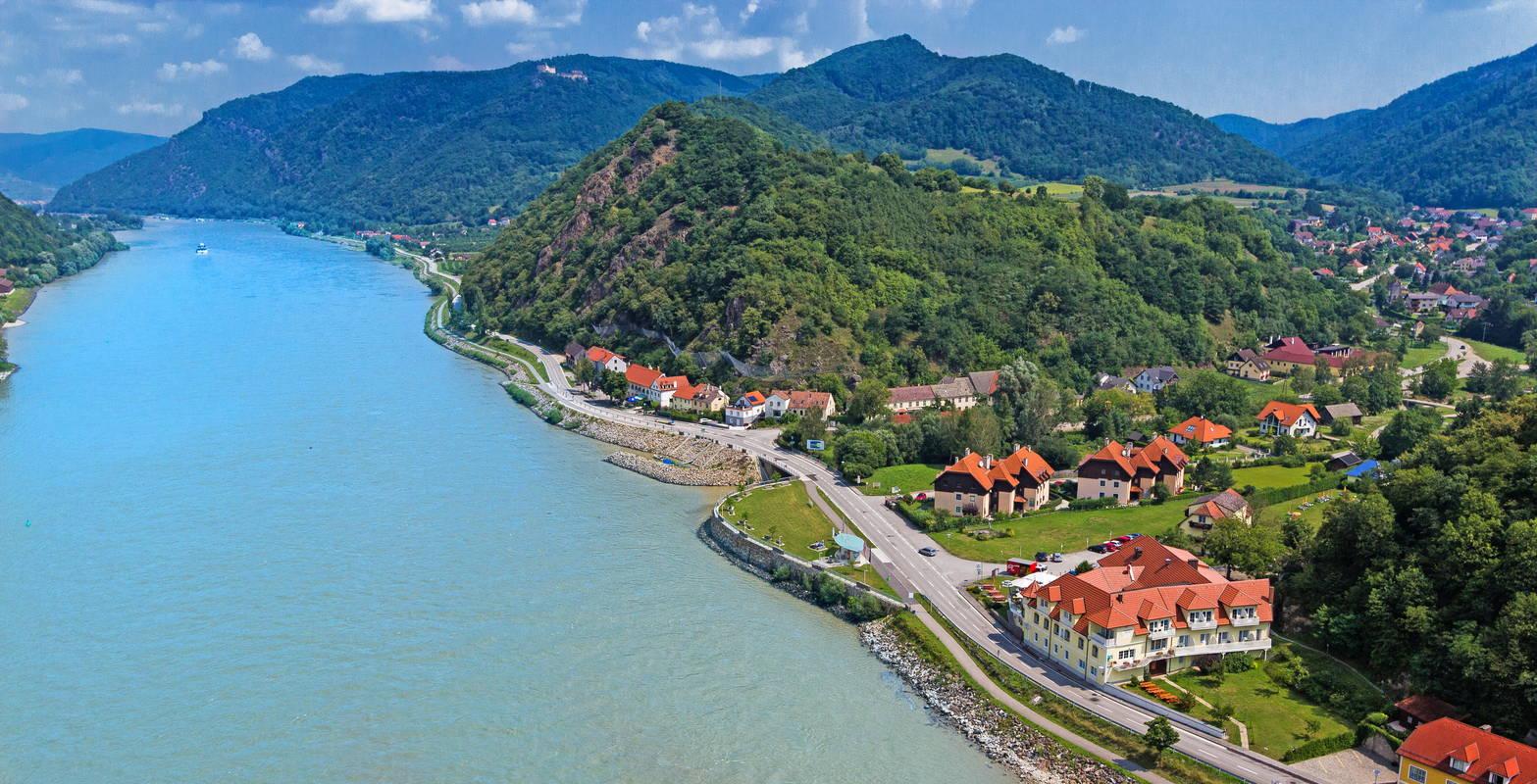Residenz Wachau-Luftaufnahme