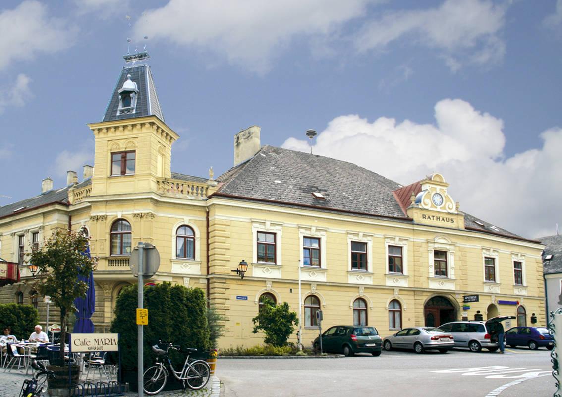 Rathaus der Stadtgemeinde Mautern
