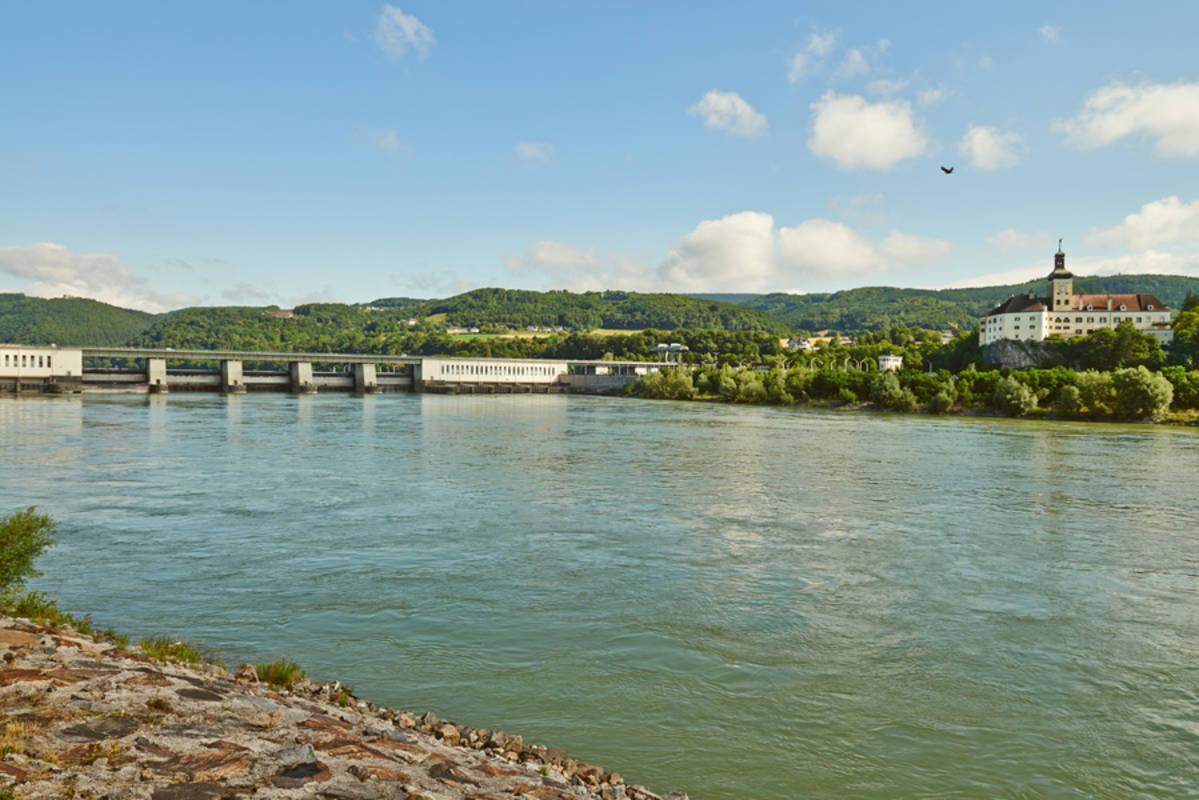 Nibelungengau Donaukraftwerk Ybbs-Persenbeug