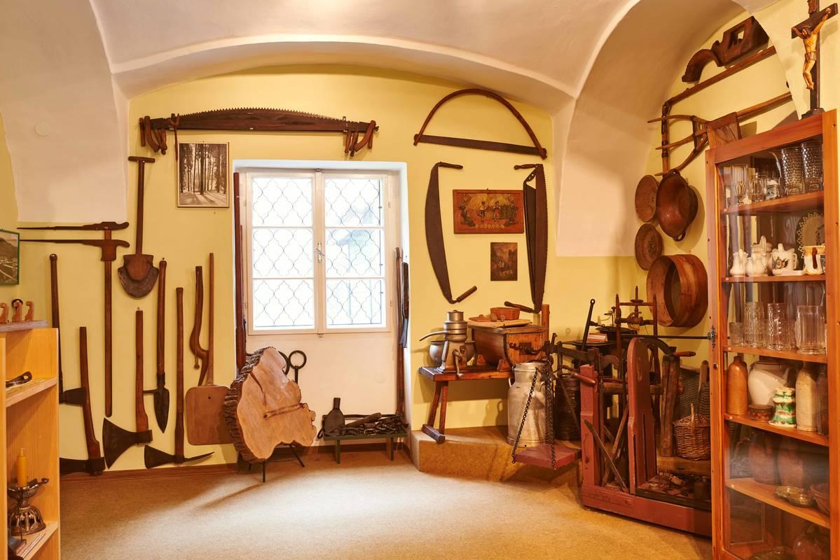 Heimatmuseum Innenansicht