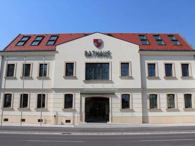 Rathaus Marktgemeinde Leopoldsdorf im Marchfelde