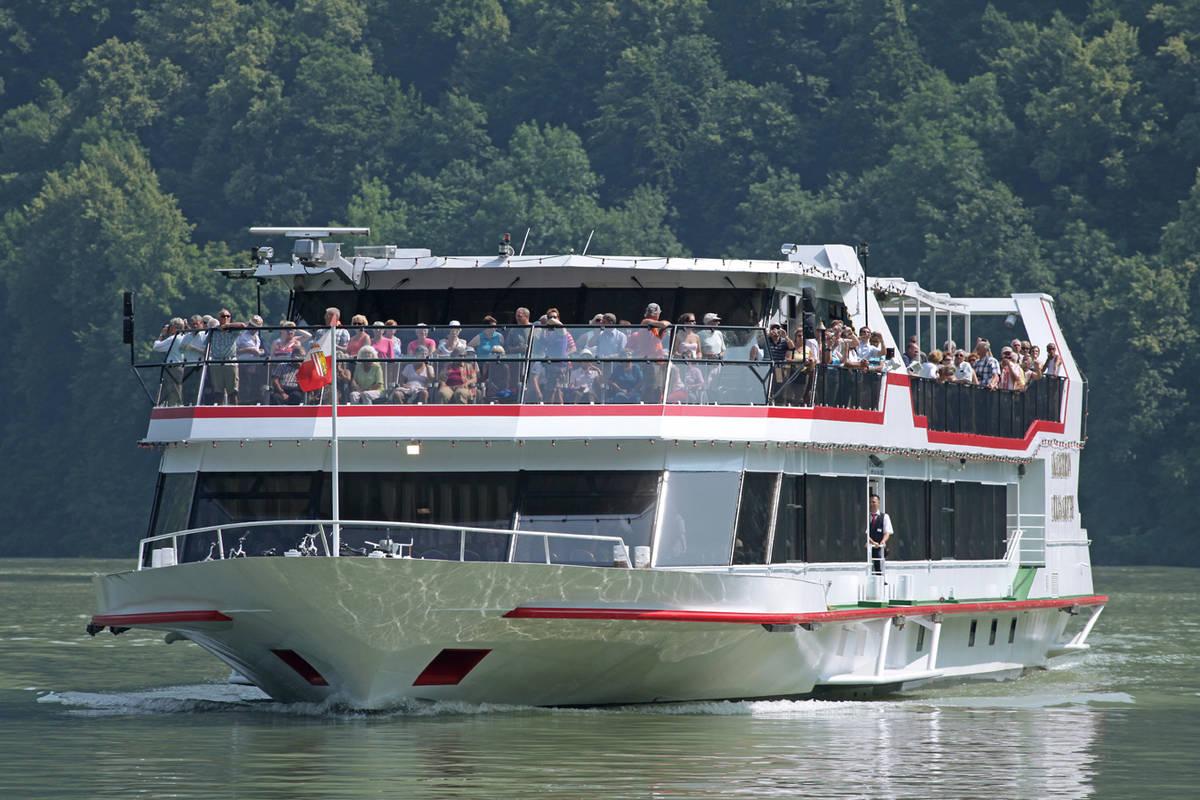 MS Kaiserin Elisabeth © Archiv Donau Touristik