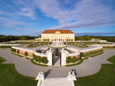 Gartenansicht Schloss Hof, Marchfeld