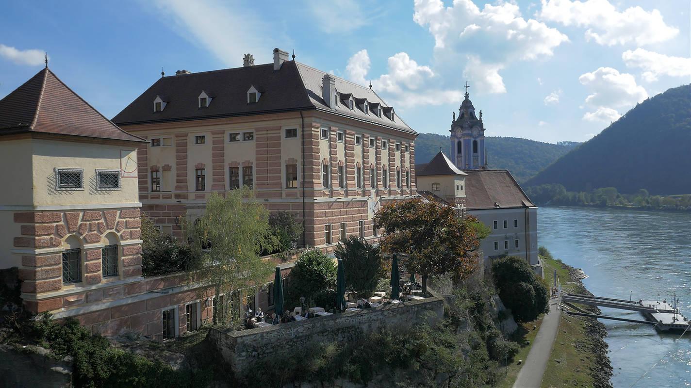 Luftaufnahme Schloss