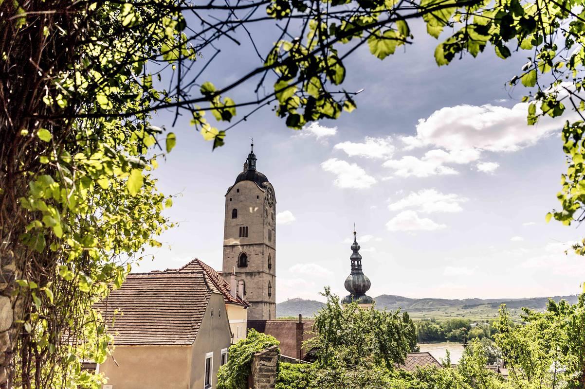 Krems-Stein im Frühling