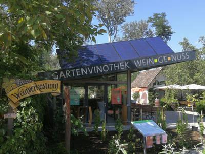 Gartenvinothek Weingenuss auf der GARTEN TULLN