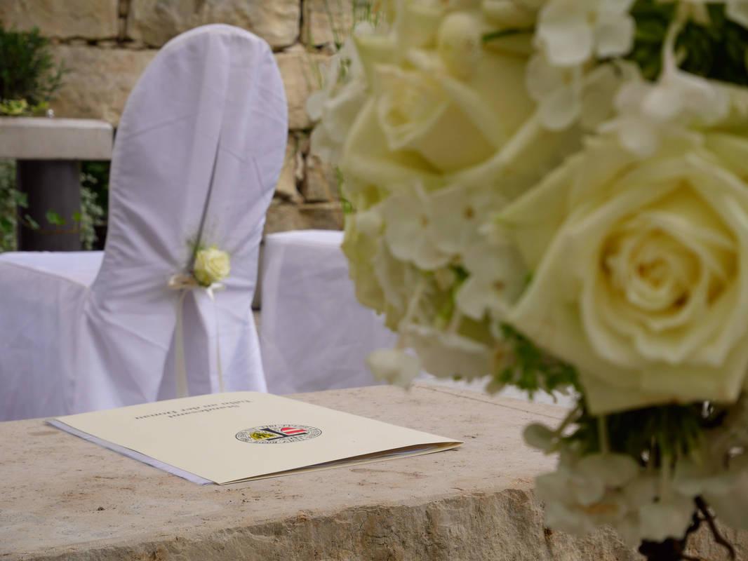 Hochzeit im Liebesgarten, DIE GARTEN TULLN