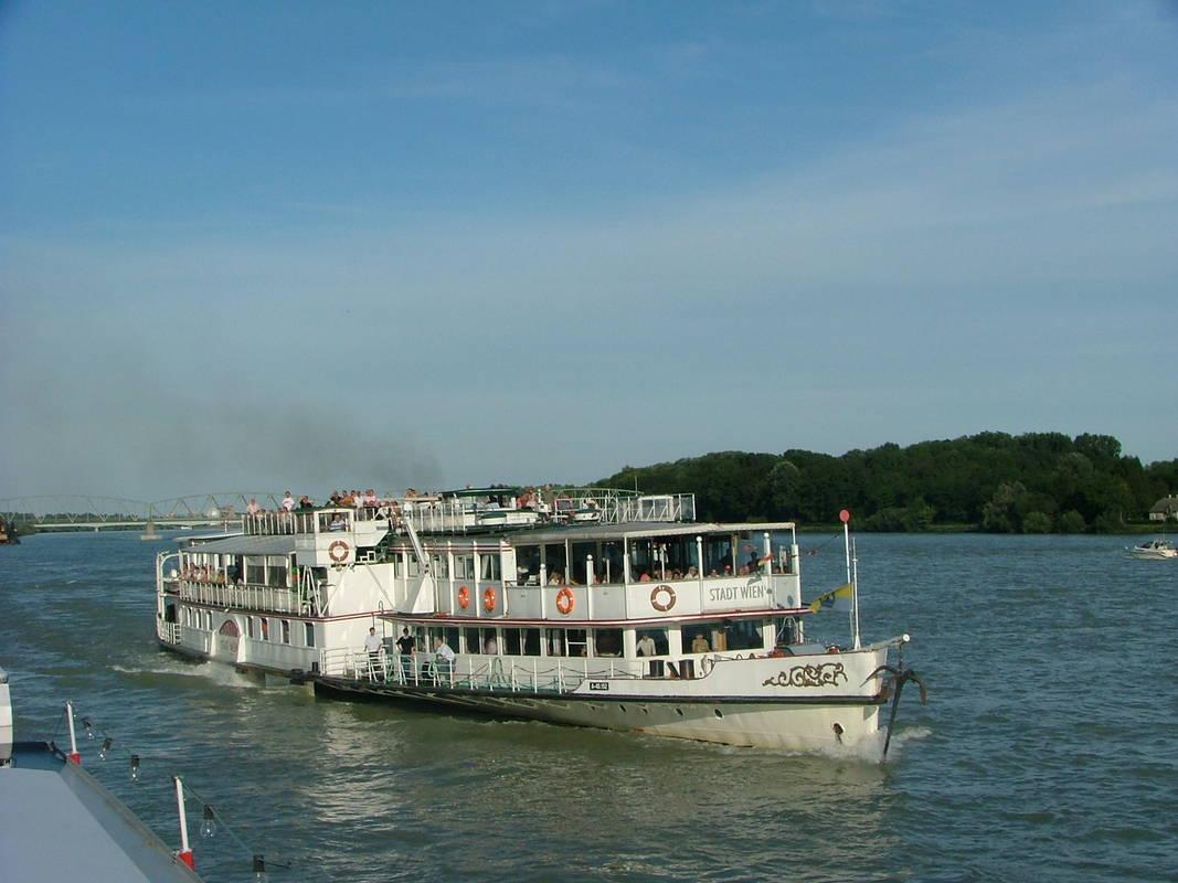 MS Stadt Wien auf der Donau © MS Stadt Wien, Brigitte Grill