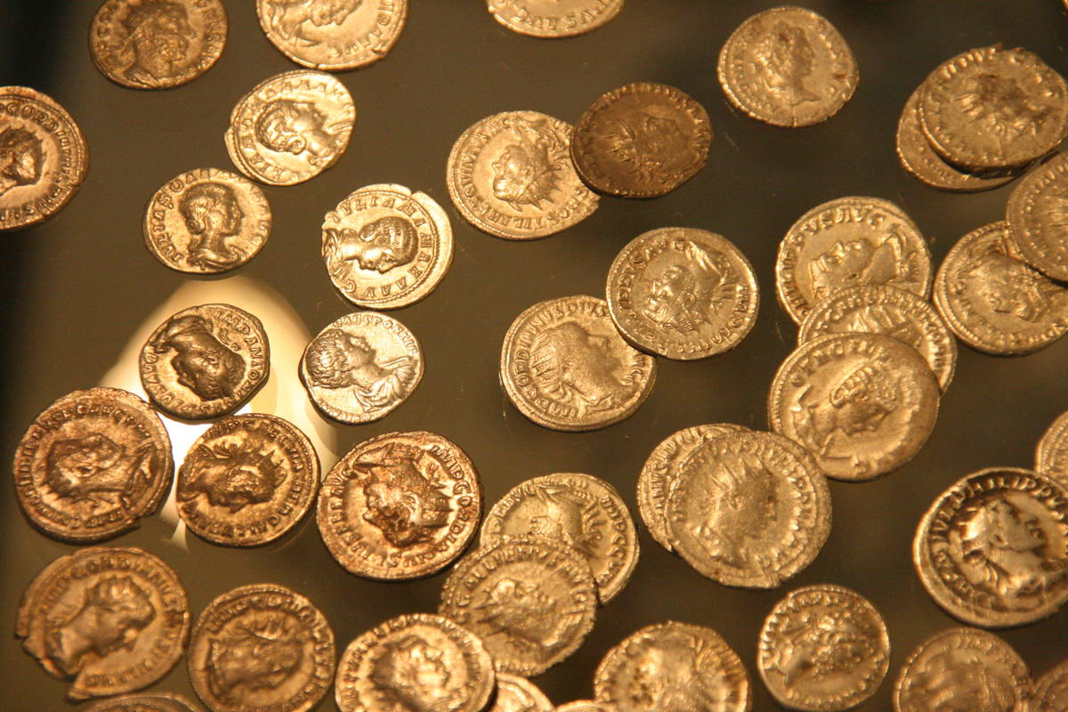Römermuseum Tulln, röm. Münzen