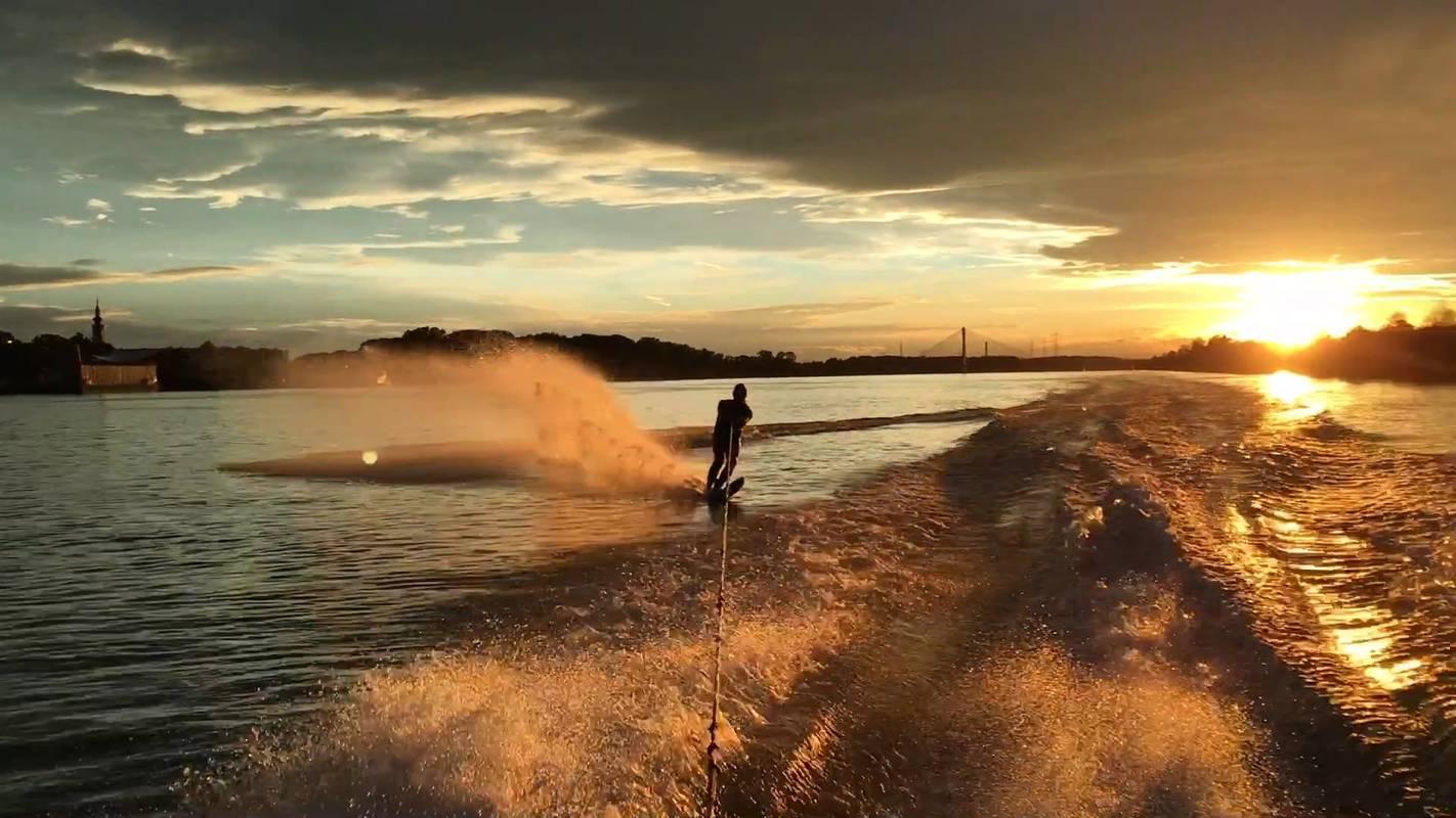 Wasserski in Tulln an der Donau