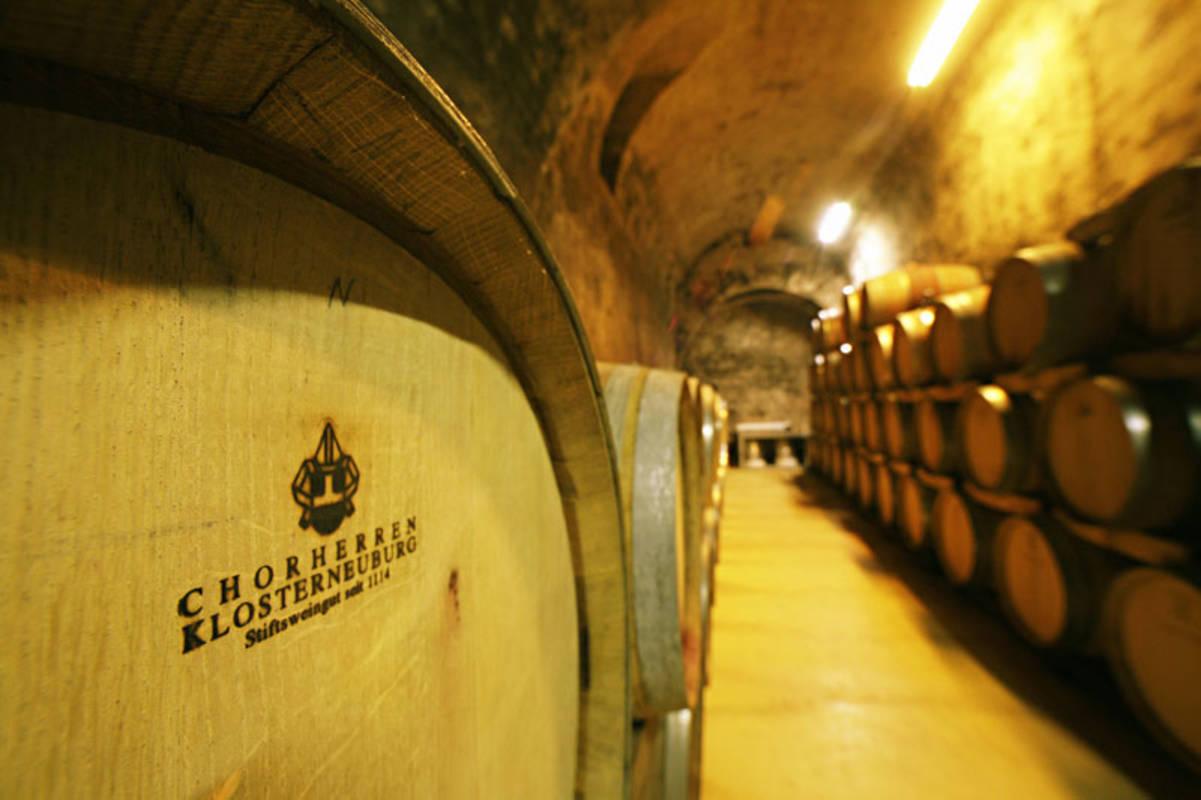 Weinkeller im Stift Klosterneuburg
