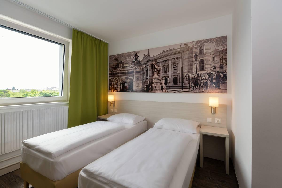 Zweibettzimmer im Lifehotel Vienna Airport Fischamend