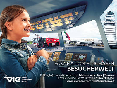 Besucherwelt Flughafen Wien