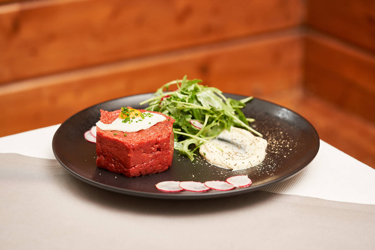 Beef Tartar in der Wachauerstube