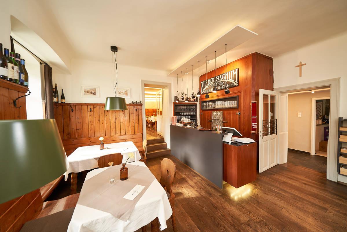 Gastraum in der Wachauerstube