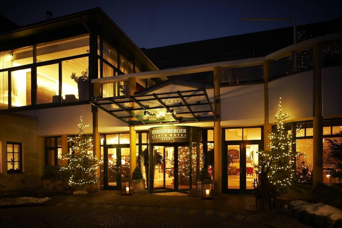 Außenansicht des Steigenberger Hotel and Spa, Krems