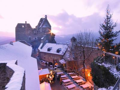 Weihnachtsmarkt Ruine Aggstein