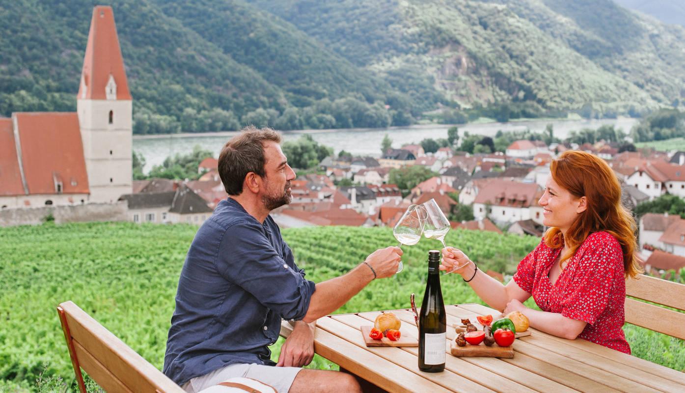 Weingenuss in Weißenkirchen