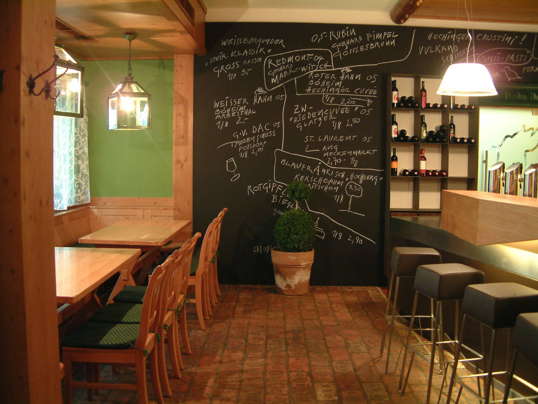 Weinbar und Stammtisch, Hechingers Heuriger