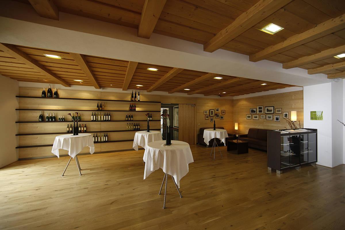 Weingalerie bei Winzer Krems