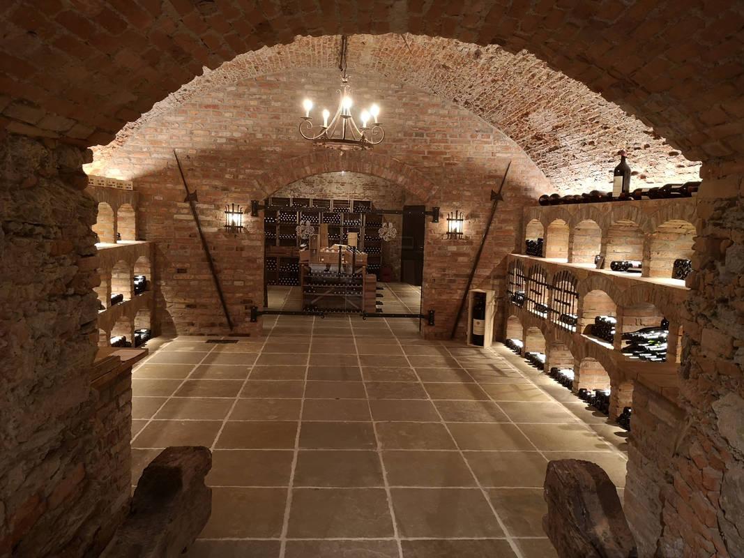 Weinkeller im Schloss Dürnstein