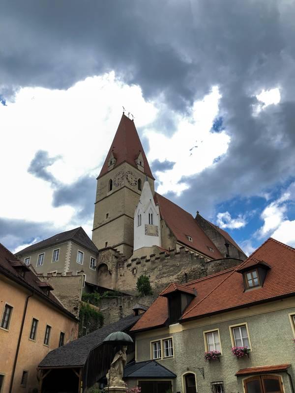 Kirche in Weißenkirchen
