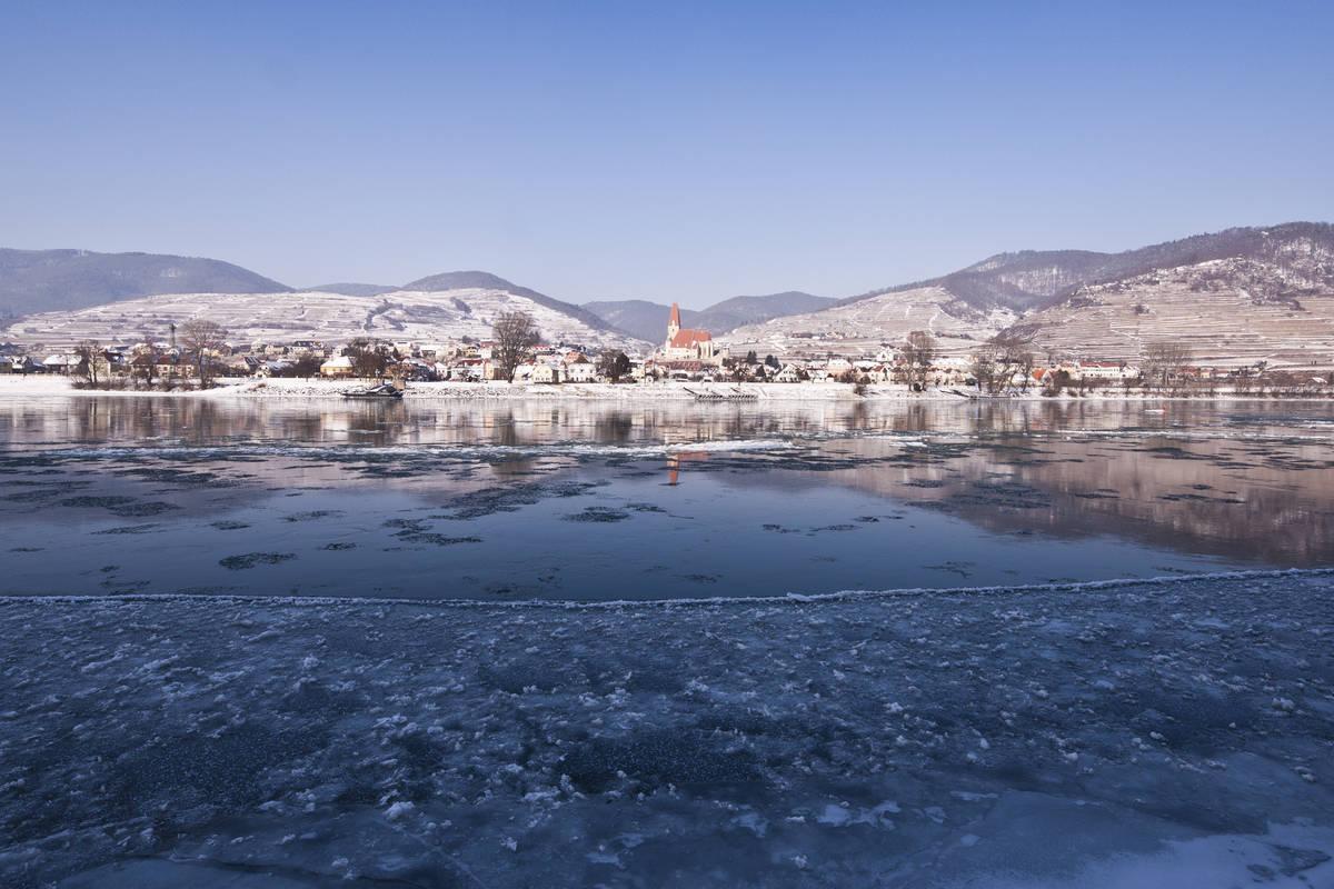 Winterliches Weißenkirchen
