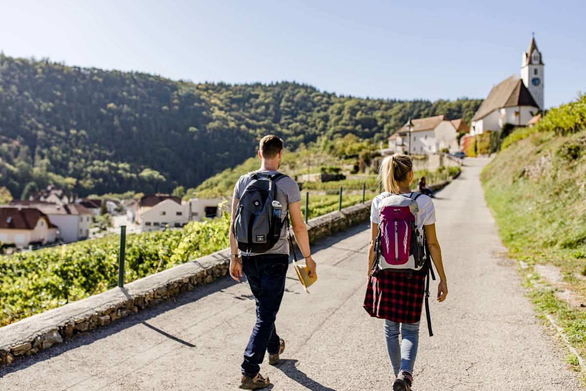 Weitwanderweg Kremstal-Donau zur Ruine Senftenberg