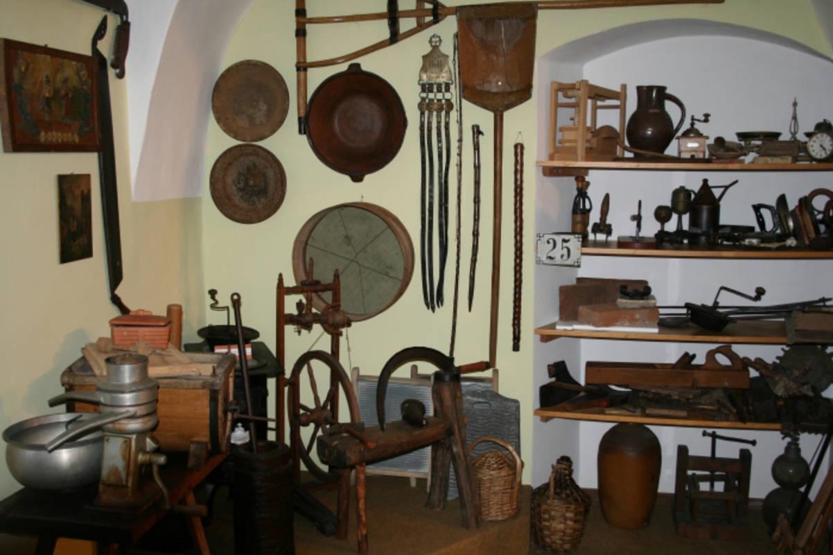 Exponate im Heimatmuseum