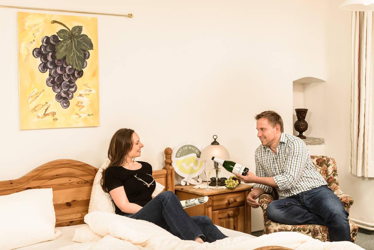 Zimmer im Weingut Özelt