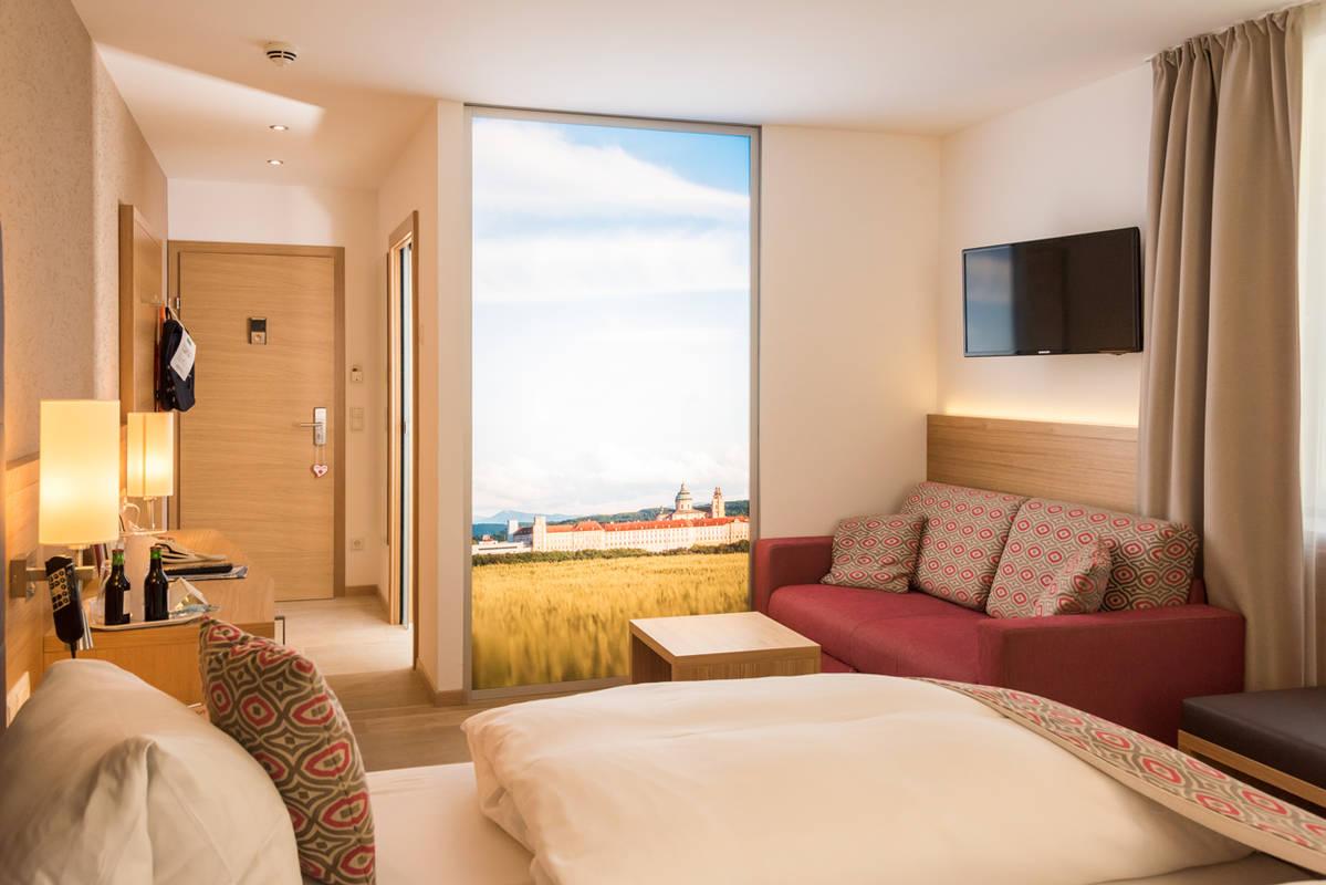 Zimmer im Hotel Donauhof