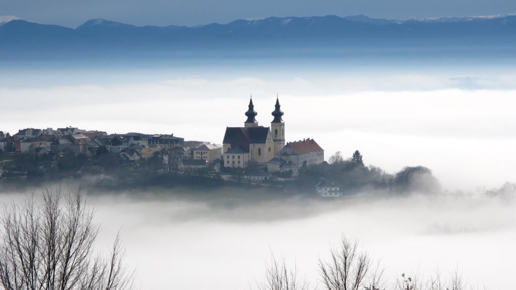 Maria Taferl im Nebel