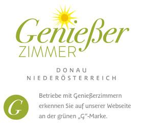 Logo Genießerzimmer, Donau Niederöesterreich © Genießerzimmer NÖ