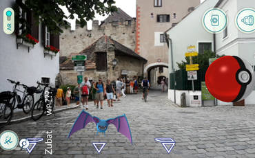 Pokemon in Dürnstein