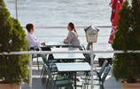 Schwimmendes Cafe, Anlegestelle Orth/Donau, Marchfeld