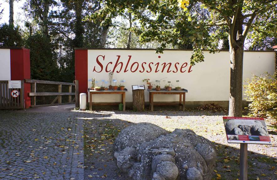 Schlossinsel, schlossORTH Nationalpark-Zentrum