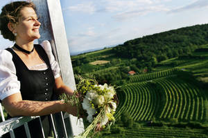 Heiraten am Korkenzieher, Traismauer © Franz Weingartner, www.weinfranz.at
