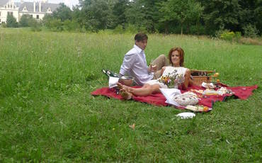 Picknick in Grafenegg, Grafenegg, Tullner Donauraum