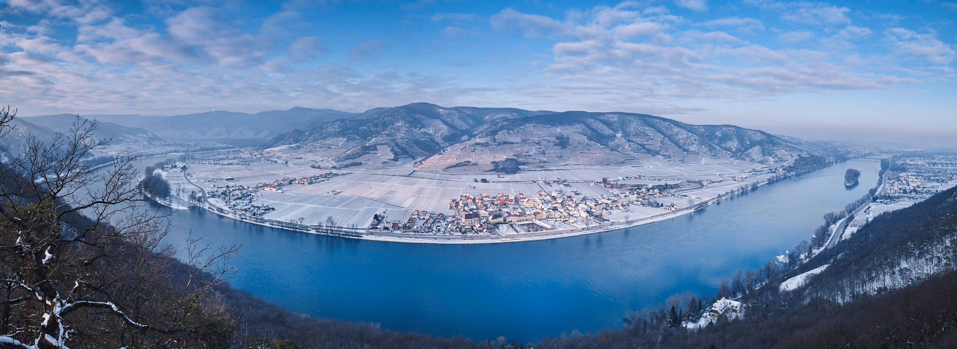 Wachau im Winter © Donau NÖ, Andreas Hofer